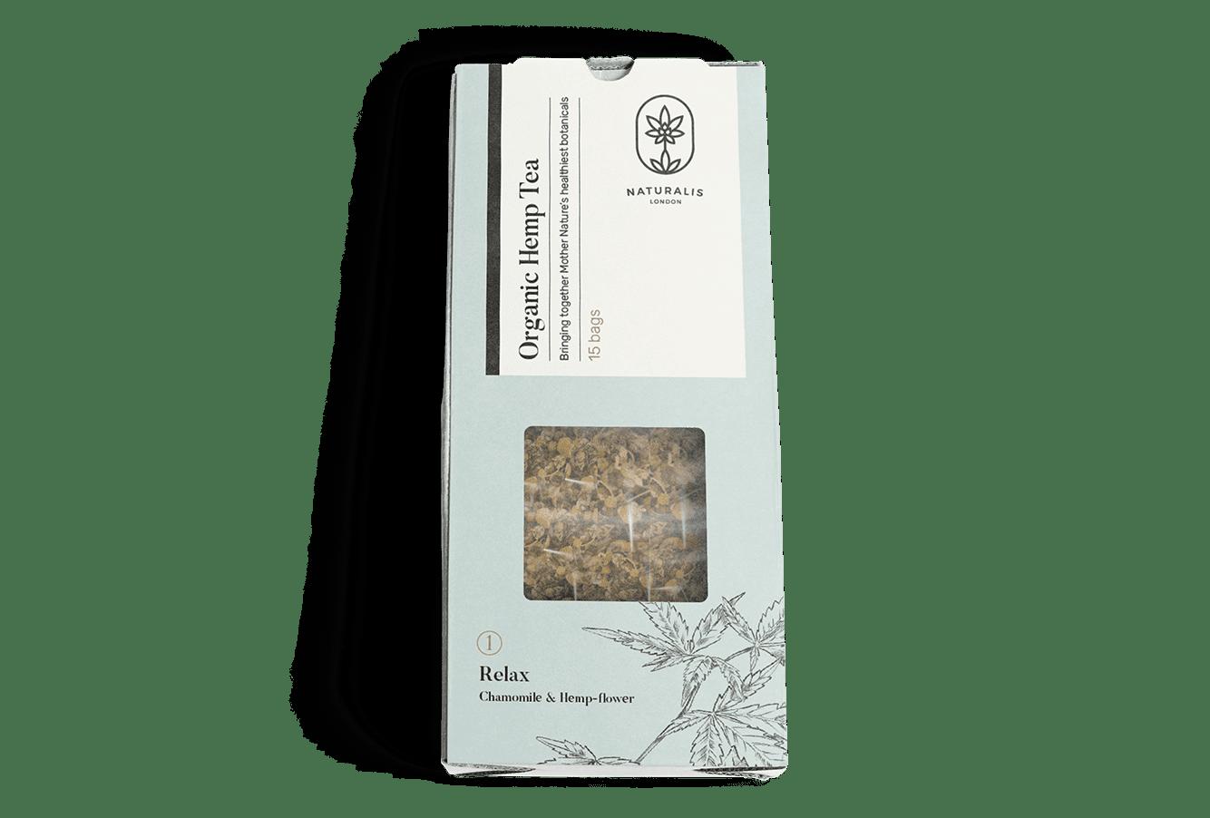 Organic Hemp Tea: Relax