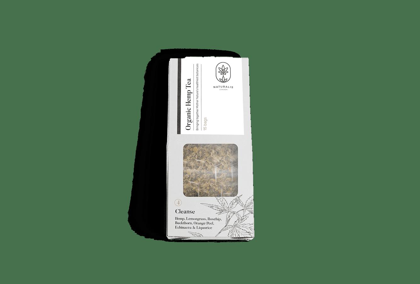 Organic Hemp Tea: Cleanse